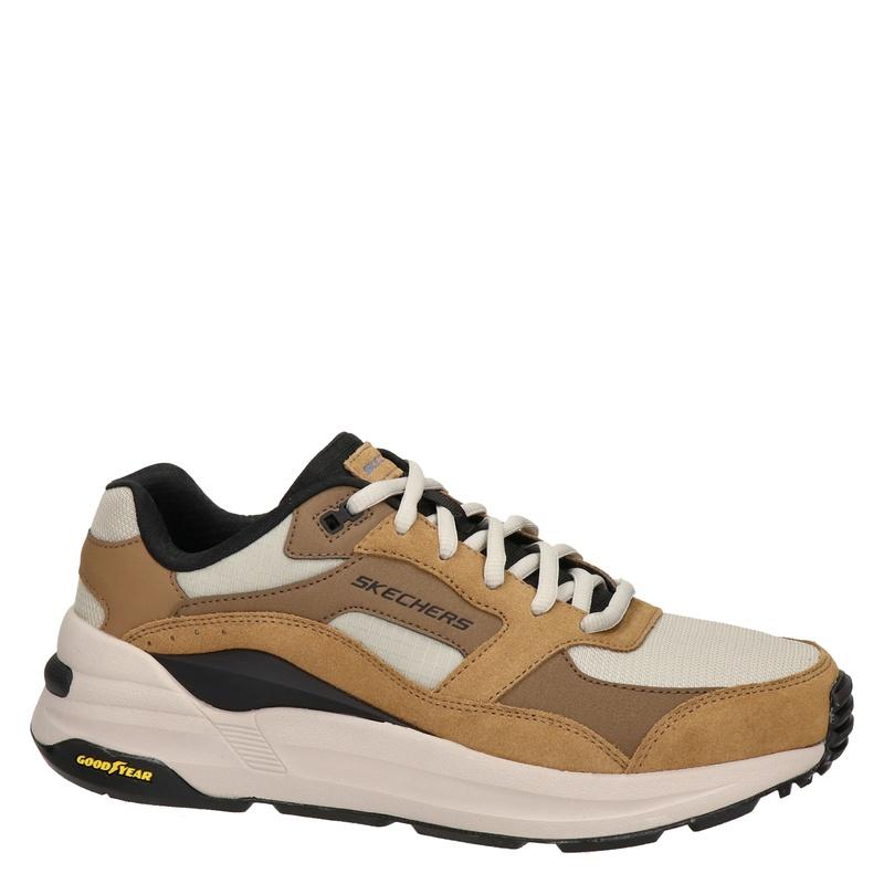 Skechers Global Jogger - Lage sneakers - Cognac
