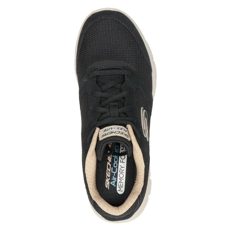 Skechers Flex Advantage 4.0 - Lage sneakers - Zwart