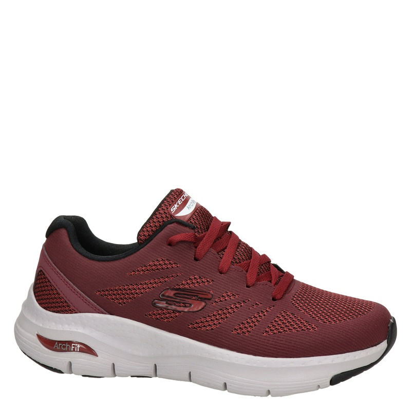 Skechers Arch Fit - Lage sneakers - Rood