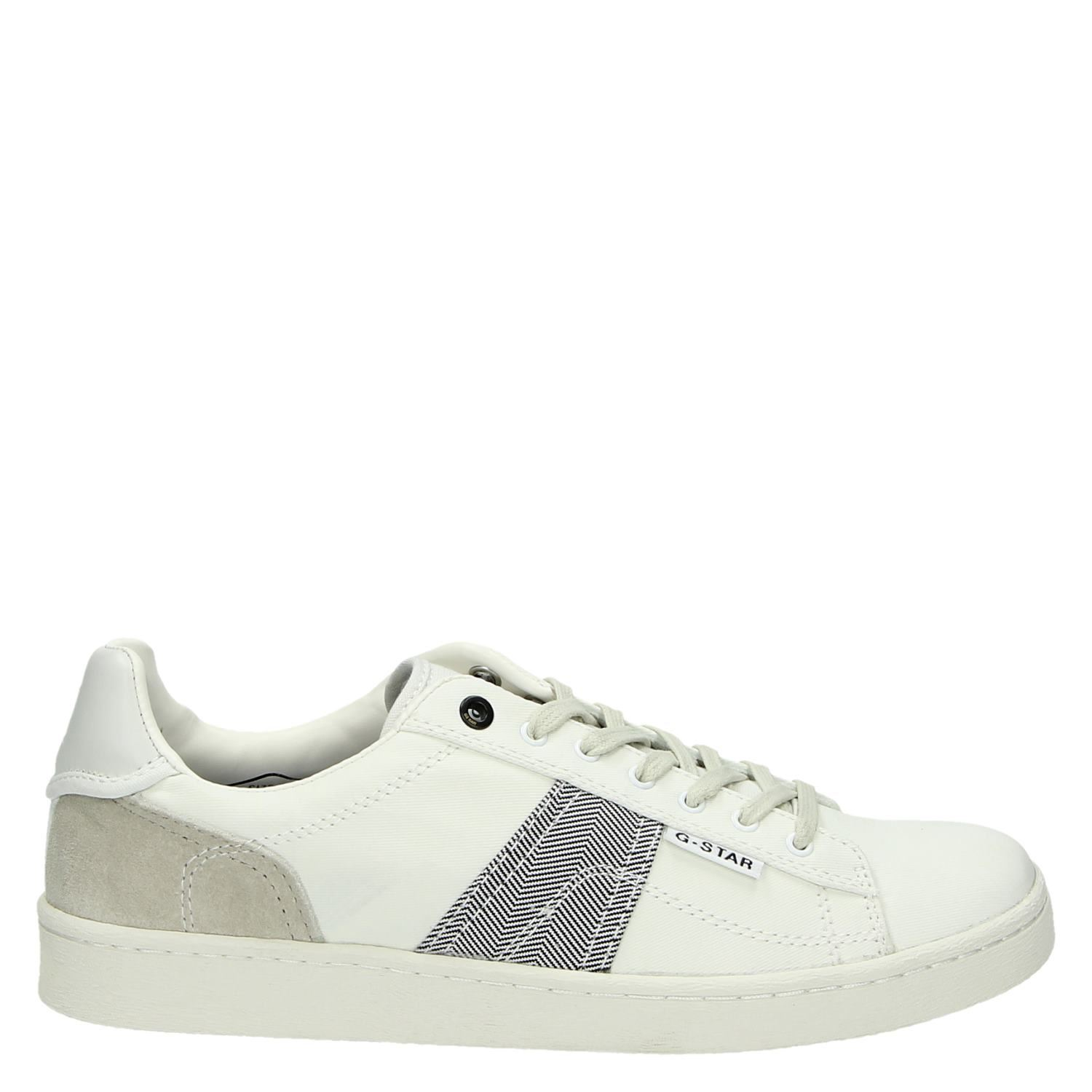 Chaussures Blanches G-star Pour Les Hommes v1v5u
