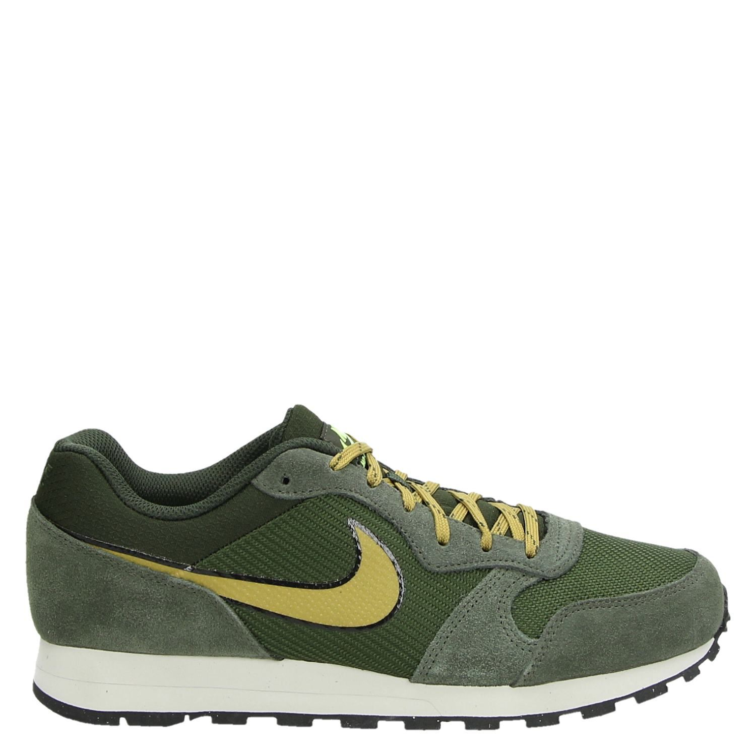 Nike MD Runner 2 heren lage sneakers groen