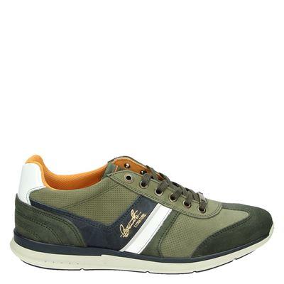 Nelson heren sneakers groen