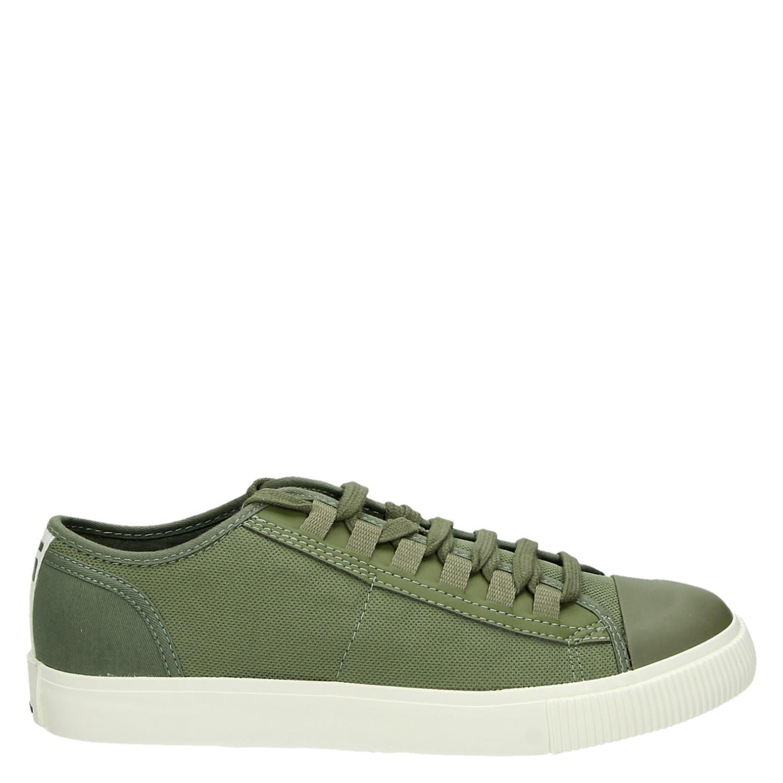 b1a04ed90f7 G-Star Raw Scuba II heren lage sneakers groen