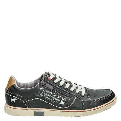 Mustang heren sneakers grijs