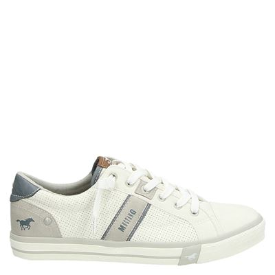 Mustang heren sneakers wit