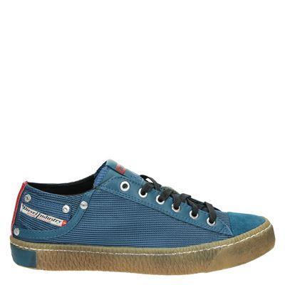 Diesel heren sneakers blauw