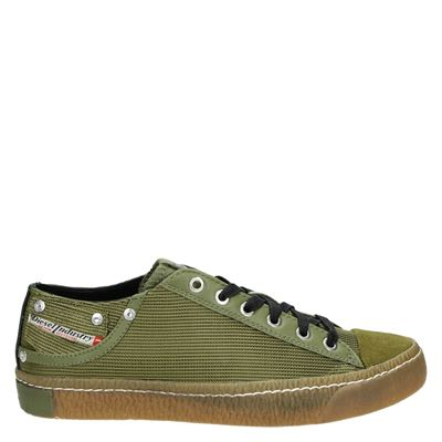 Diesel heren sneakers groen
