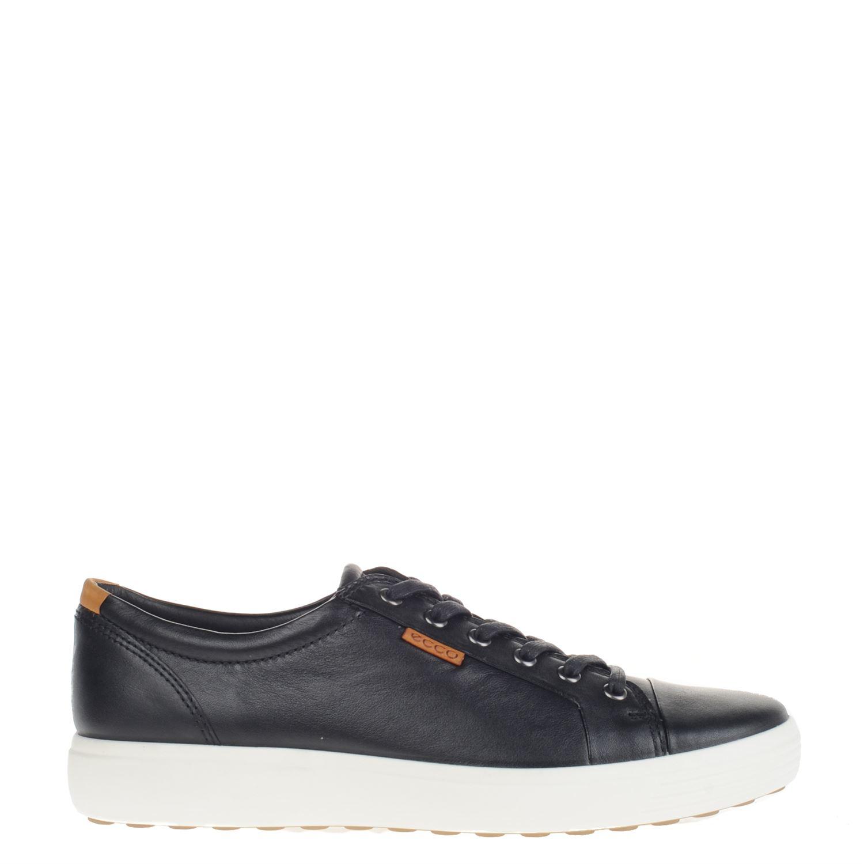 Ecco Doux Un Faible Chaussures De Sport Noir 9b9zyfn