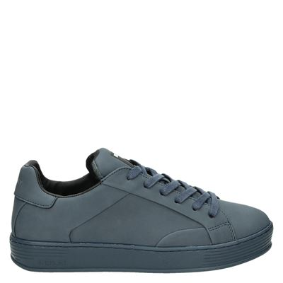 Replay heren lage sneakers blauw