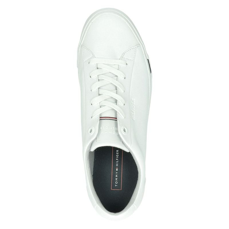 Tommy Hilfiger Sport Corporate - Lage sneakers - Wit