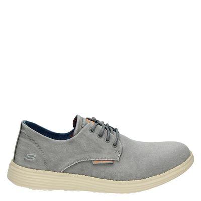 Gris Chaussures Skechers Pour Les Hommes Pension Pk72t
