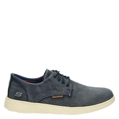Skechers heren sneakers blauw
