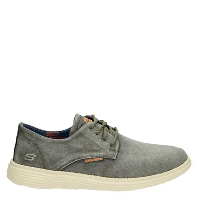 Skechers heren sneakers taupe