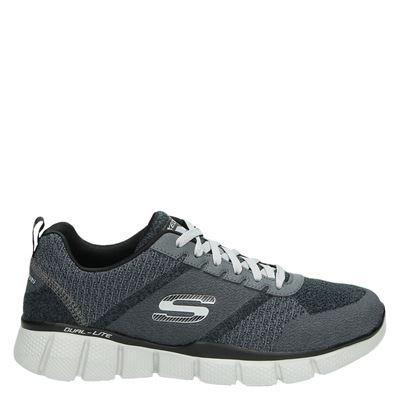 Skechers heren lage sneakers grijs