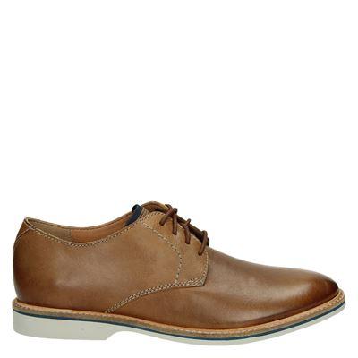 Clarks heren nette schoenen cognac