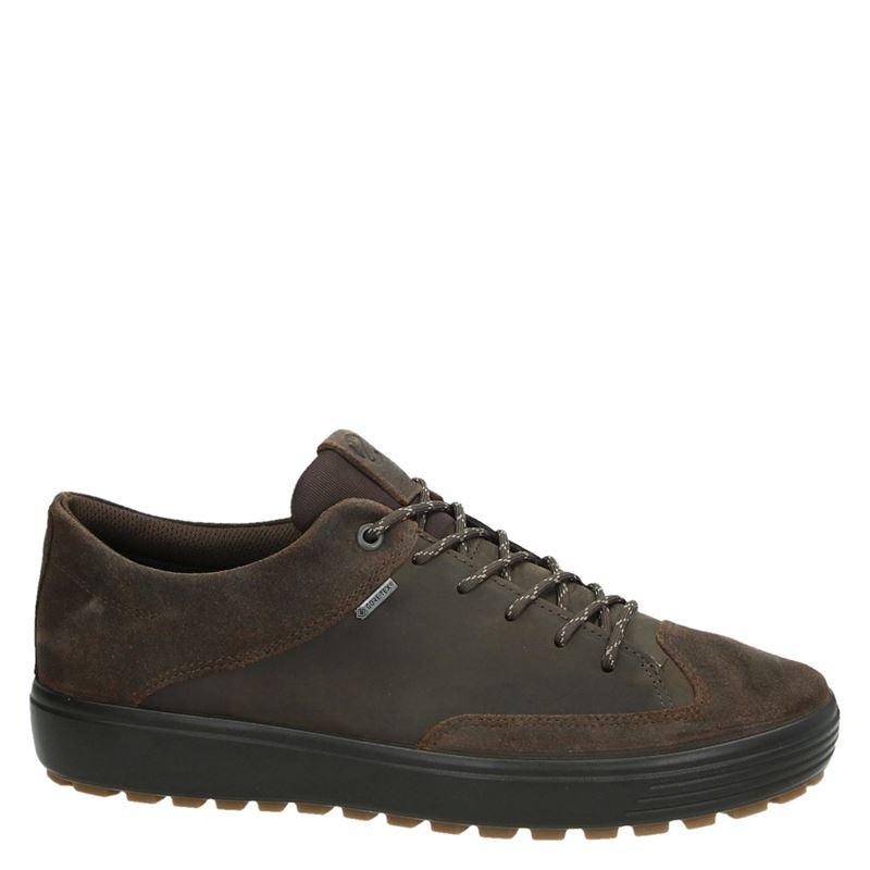 Ecco Soft 7 Lug - Lage sneakers - Bruin