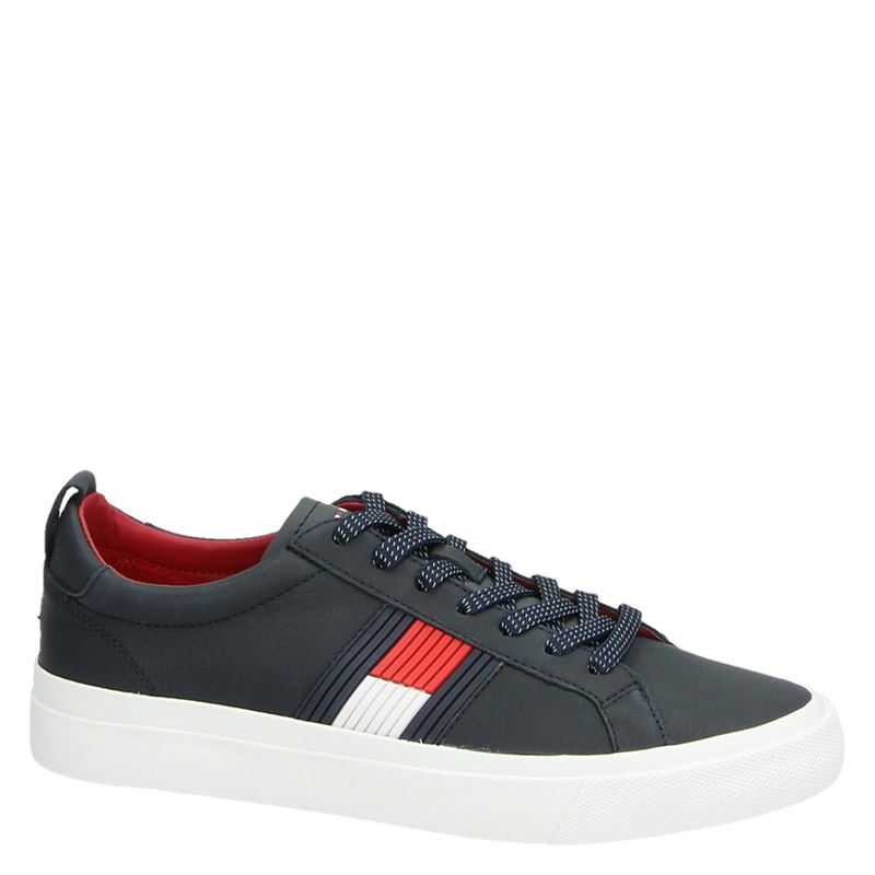 Tommy Hilfiger Sport Flag Detail - Lage sneakers - Blauw