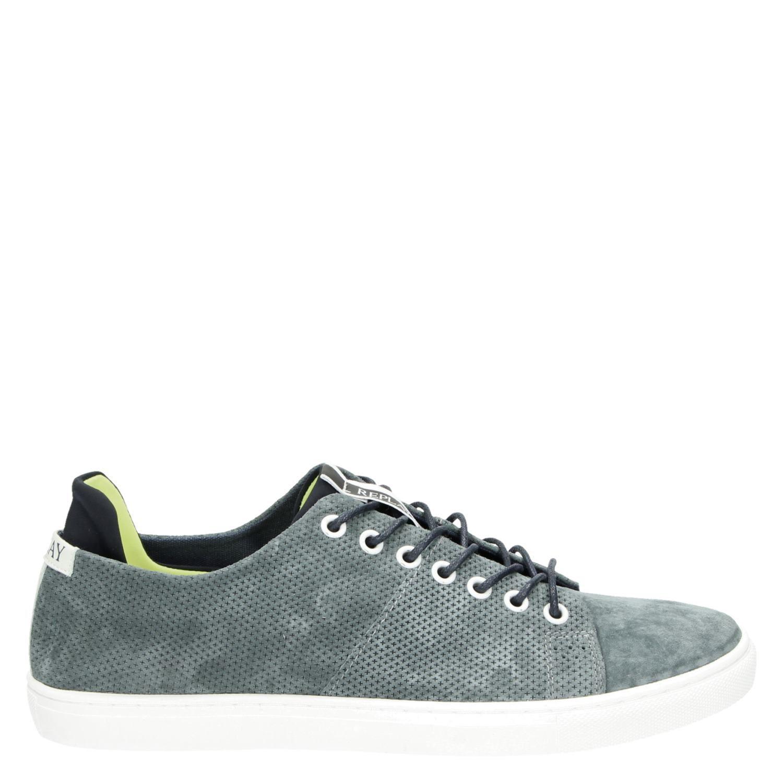 Replay heren lage sneakers blauw