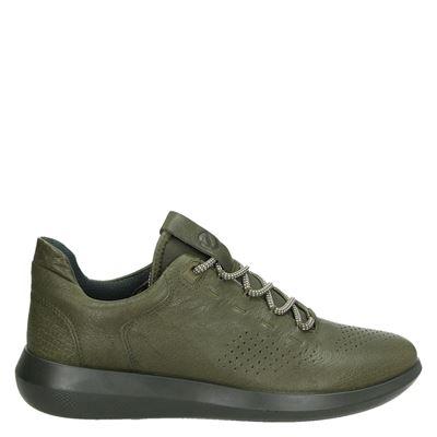 Ecco heren sneakers groen