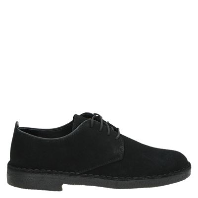 Clarks Originals heren veterschoenen zwart