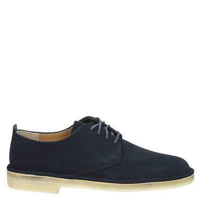 Clarks Originals heren veterschoenen blauw