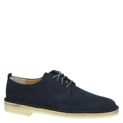 Chaussures Wallabee Bleu Pour Les Hommes koP1ssgR