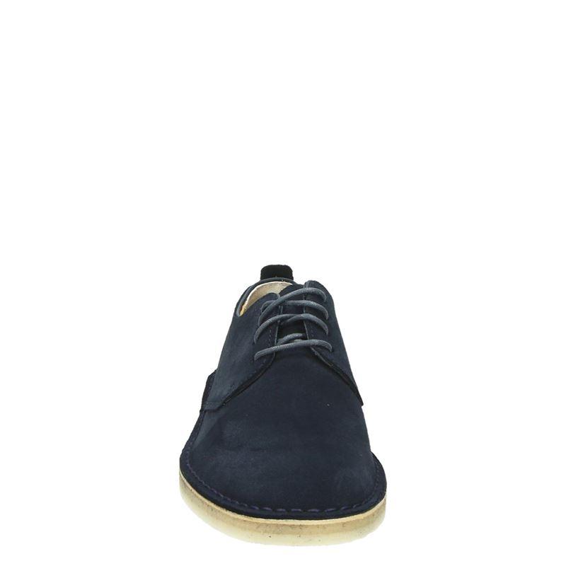 Clarks Originals Desert London - Veterschoenen - Blauw