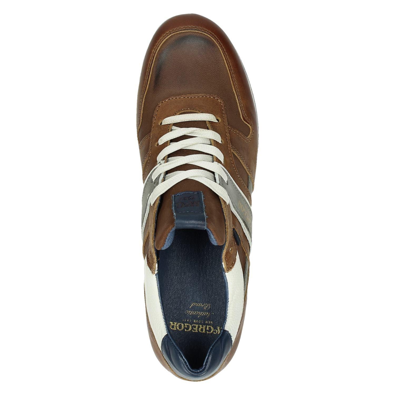 7bcdda25f96 Mc Gregor Jairison heren lage sneakers cognac