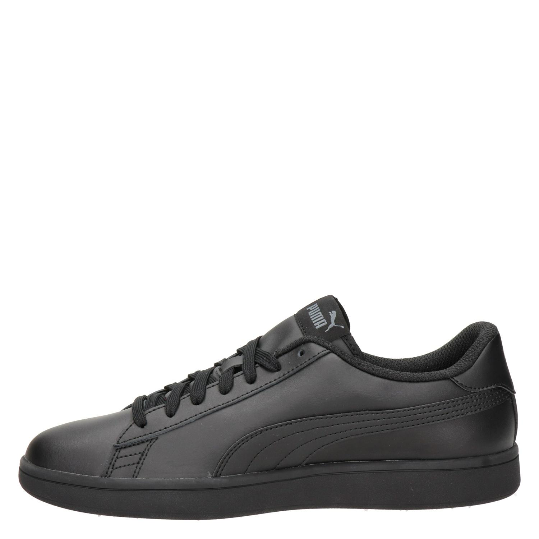 Puma Smash V2 Lage sneakers voor heren Zwart Nelson.nl