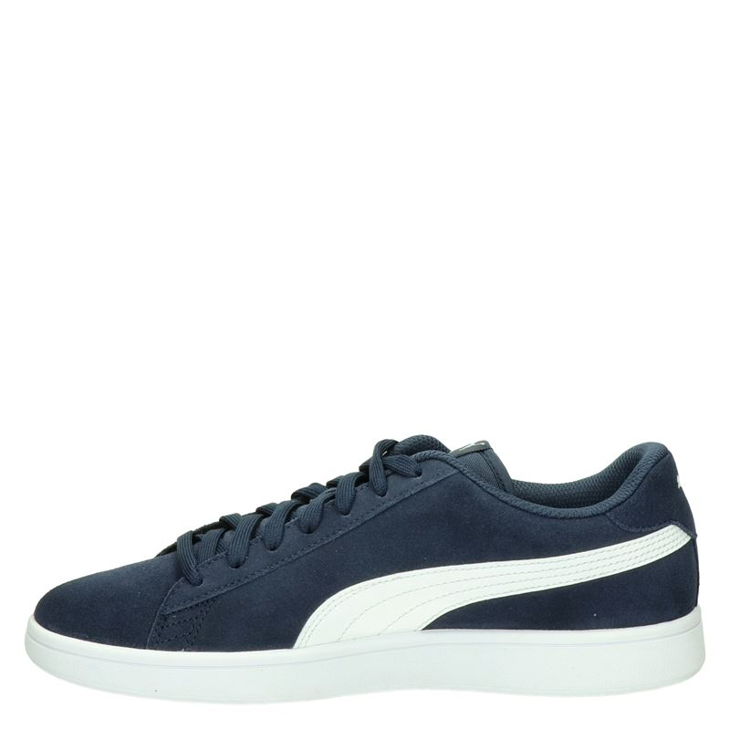 Puma Smash V2 - Lage sneakers - Blauw