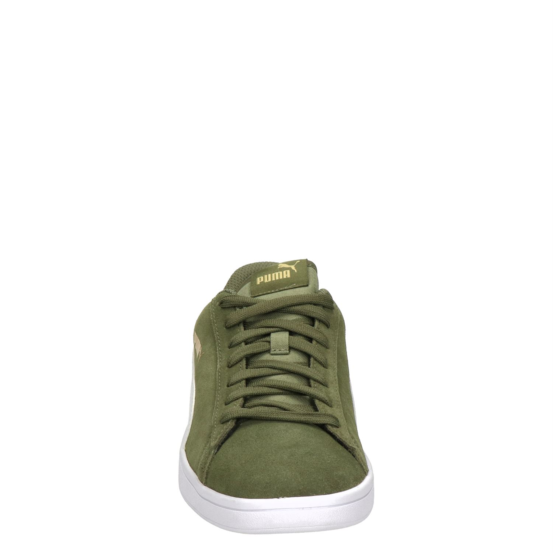 Puma Smash V2 sneakers groen Schoenen, Groen en Nieuwe mode