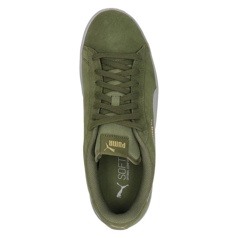 Puma Smash V2 - Lage sneakers - Groen