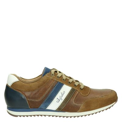 Australian heren sneakers cognac