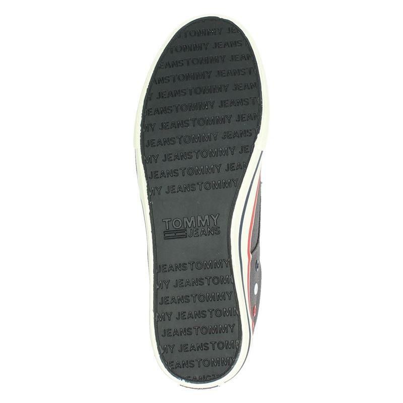 Tommy Jeans - Lage sneakers - Grijs