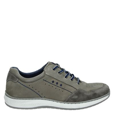 Nelson heren sneakers grijs