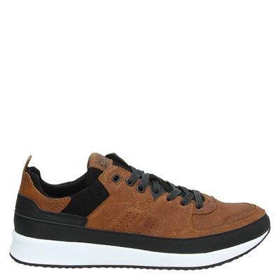 Hub heren sneakers cognac