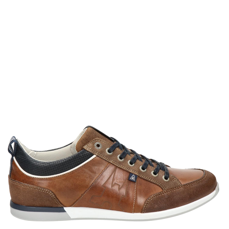 Gaastra Cognac Lage Heren Sneakers Bayline 7ygfb6