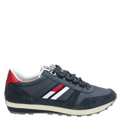 Tommy Jeans heren sneakers blauw