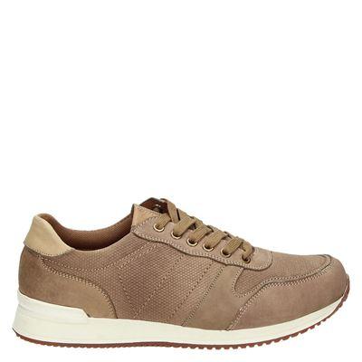 eve + adam heren sneakers taupe