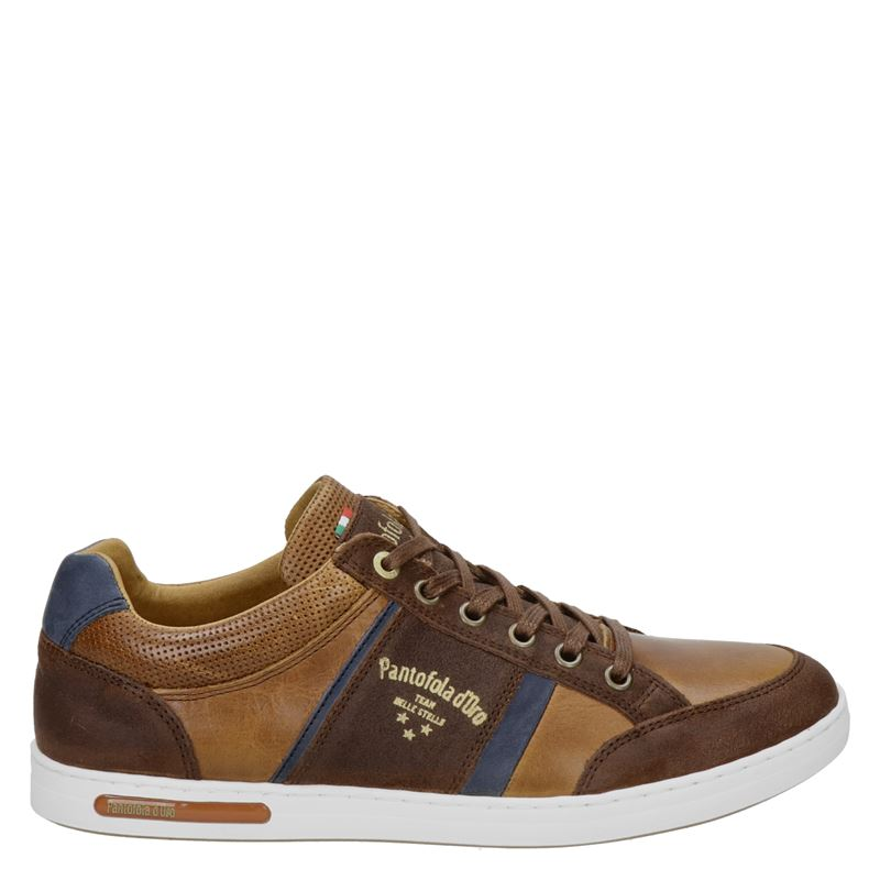 Pantofola d'Oro Mondovi - Lage sneakers - Cognac