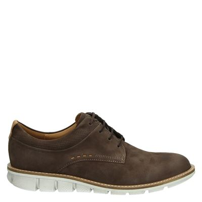 Hommes Ecco Kenton Derbies - Brun - 44 Eu ppGP4rS