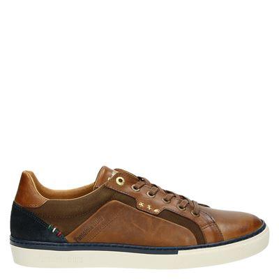 Pantofola d'Oro heren sneakers cognac