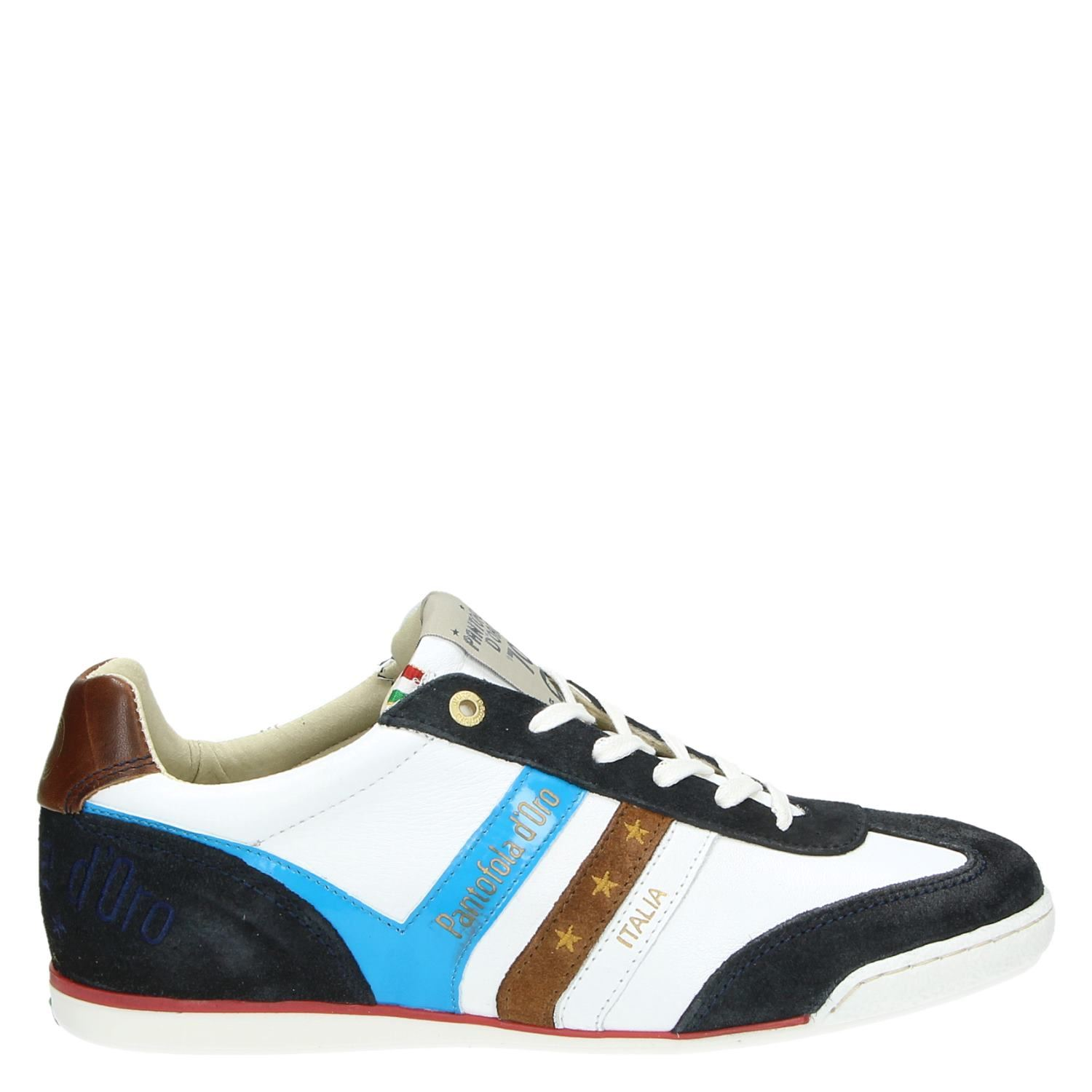 Pantofola Loreto Heren Sneakers D'oro Lage Wit fy76Ygbv