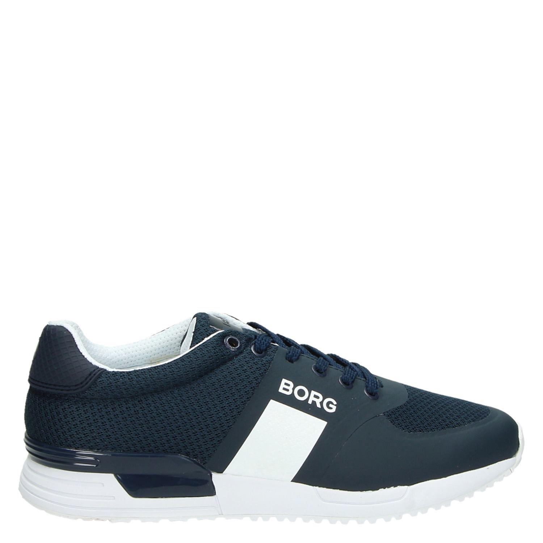 cfe682b47ce Bjorn Borg heren lage sneakers blauw