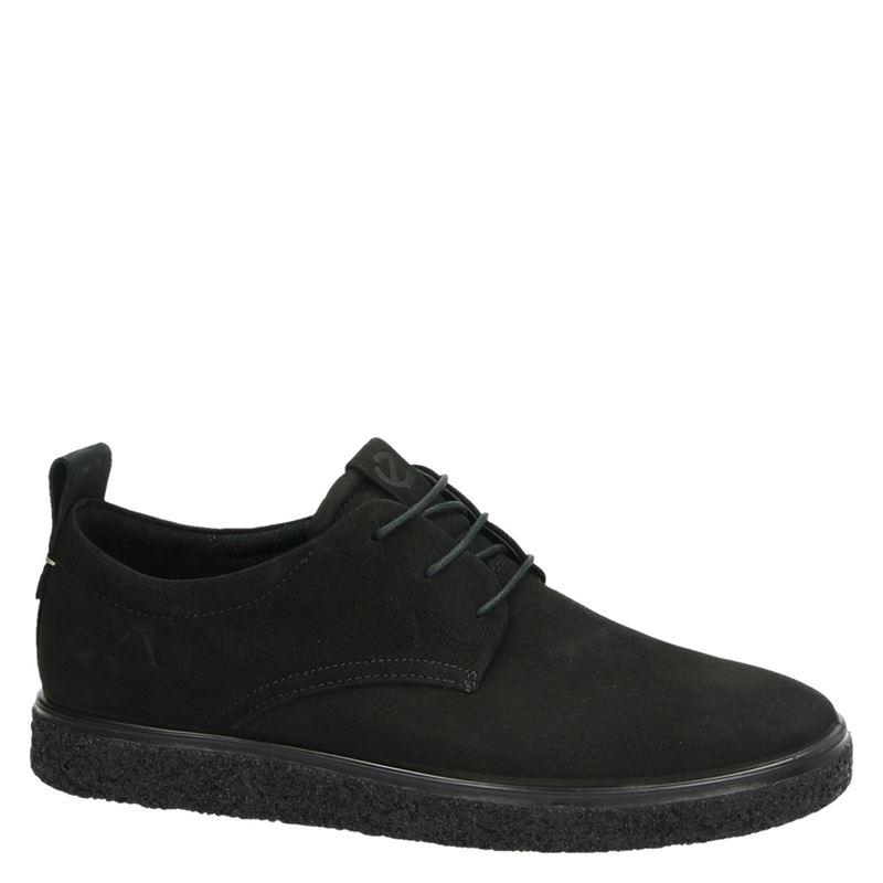 Ecco Crepetray - Lage sneakers - Zwart