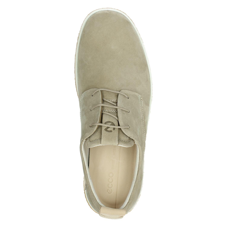 Ecco Crepetray - Lage sneakers voor heren - Beige AoysHJT