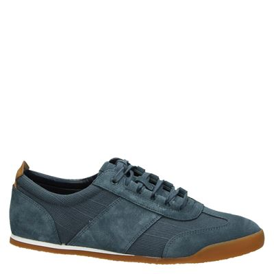 Siddal Heren Lage Blauw Sneakers Clarks Mix HPq6Y