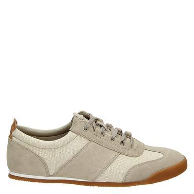 Clarks heren sneakers beige