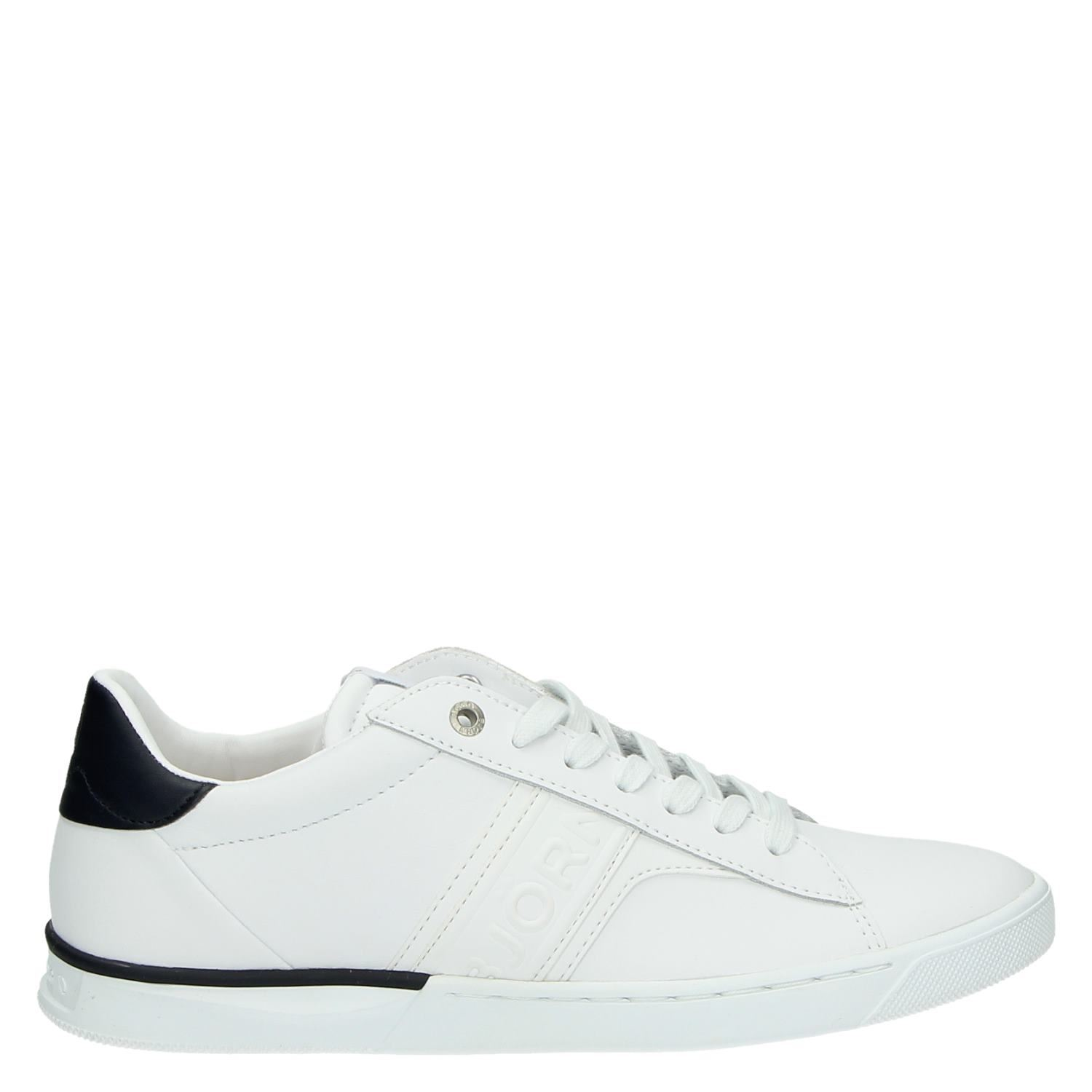 1ce8ae73357 Bjorn Borg heren lage sneakers wit