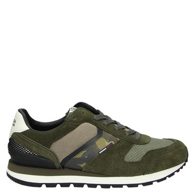 Tommy Jeans heren sneakers groen